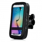 MINI SMILE Bicycle Mount Sport Bag for Samsung S6 / S6 Edge - Black