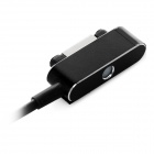 Mini Smile USB 2.0 to Magnetic Charging Cable for Sony Z3 - Black (1m)