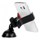 Car Mount Holder Clamp w/ Suction Cup for Cellphone - Black