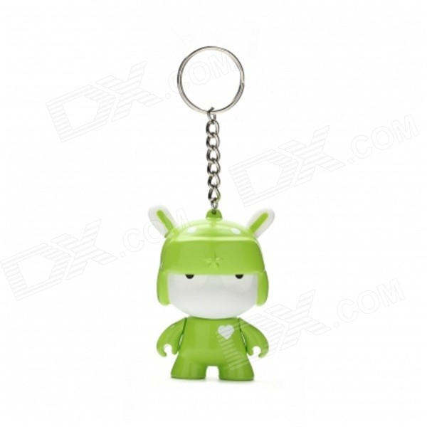 Xiaomi Mi Bunny Zinc Alloy Keyring / Key Chain - Green + White