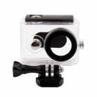 G-872 Waterproof Case for Xiaomi Xiaoyi - Transparent + Black