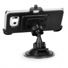 Mini Smile Mini G-Shape Neck Car Mount for Samsung S6 Edge - Black