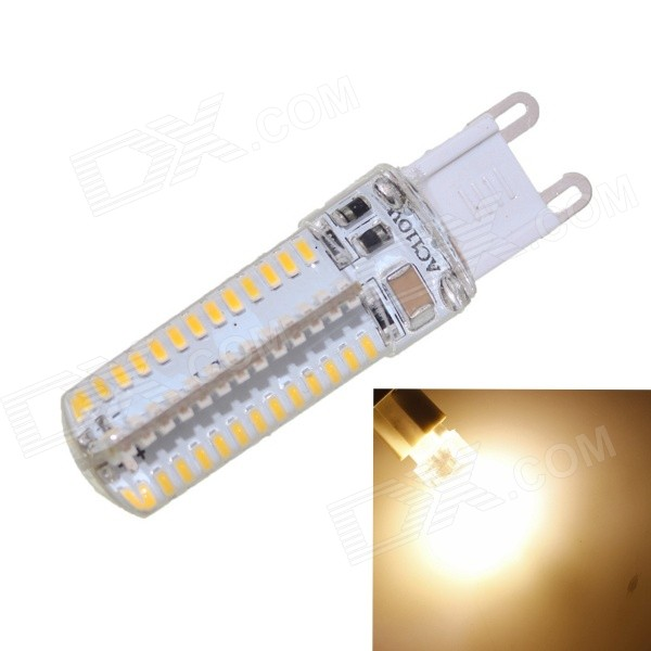G9 6W Waterproof 550lm 104-SMD 3014 White Lamp (110130V)
