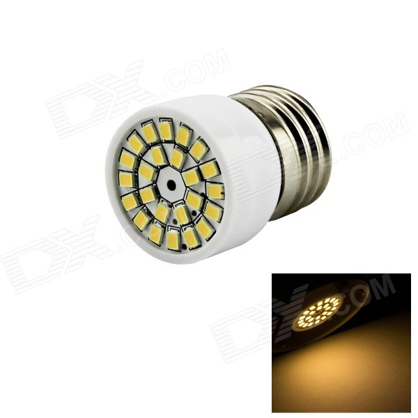 Buy HONSCO E27 3W LED Spotlight Warm White Light 3000K 200lm 24-SMD 2835 with Litecoins with Free Shipping on Gipsybee.com