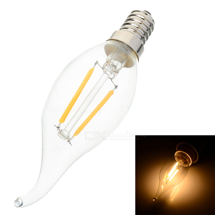 Buy E14 2W 2700K 160lm Warm White Bulb (220V) with Litecoins with Free Shipping on Gipsybee.com