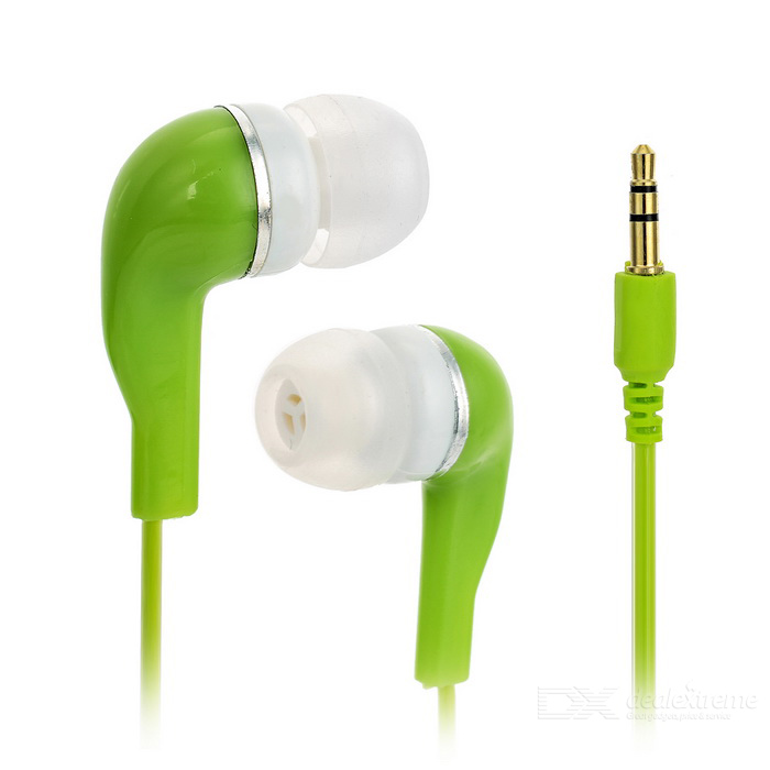 Crystal Cable In-Ear Earphone w/ 3.5mm Jack - Green (110cm)Headphones<br>Form  ColorGreenMaterialSilicone + PCQuantity1 DX.PCM.Model.AttributeModel.UnitShade Of ColorGreenHeadphone StyleIn-EarConnection3.5mm WiredCable Length110 DX.PCM.Model.AttributeModel.UnitSNR75~90dBSensitivity112+/-3dBTHDRemoteNoWith MicrophoneNoDriver Unit2Frequency Response20Hz~20KHzImpedance4 DX.PCM.Model.AttributeModel.UnitChannels2.0Connector3.5mmLeft &amp; Right Cables TypeEqual LengthVolume ControlNoPacking List1 x Earphones<br>