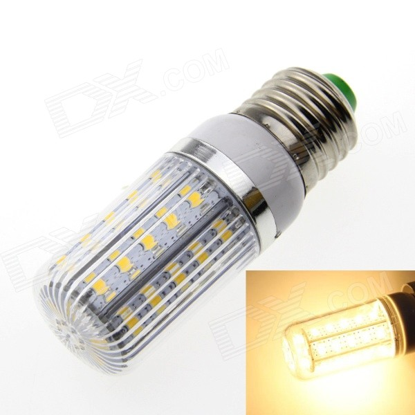 E27 Stripe 9W 36-SMD LED Corn Light Warm White 3000K 900lm (220~240V)