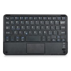 Ultra-thin-Bluetooth-59-Key-Keyboard-w-Touch-Mouse-Black