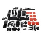 Outdoor Sports 20-in-1 Accessories Bundle Kit for Gopro - Black