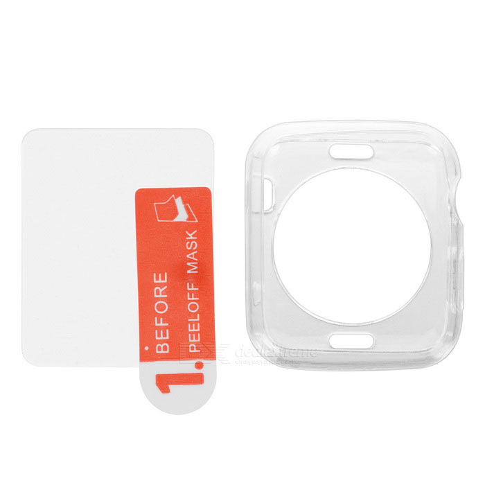 Mini Smile Case + Screen Protector for 42mm APPLE WATCH - Transparent
