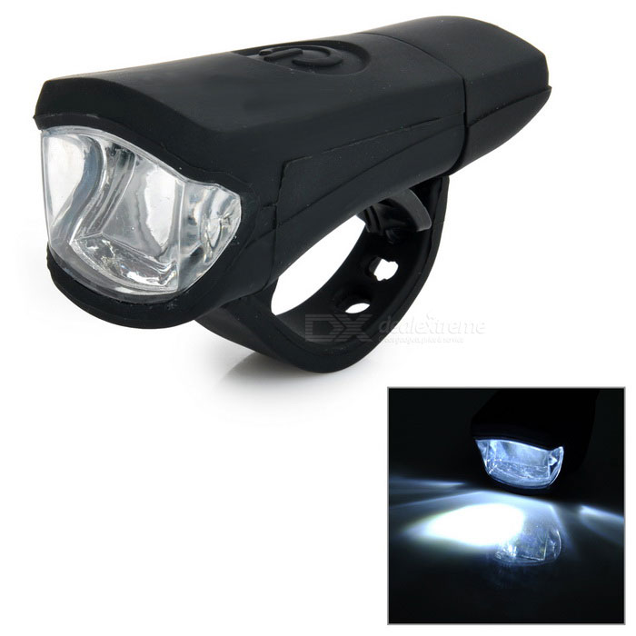 Leadbike A50 100lm 2-LED 2-Mode White Light Bike Lamp