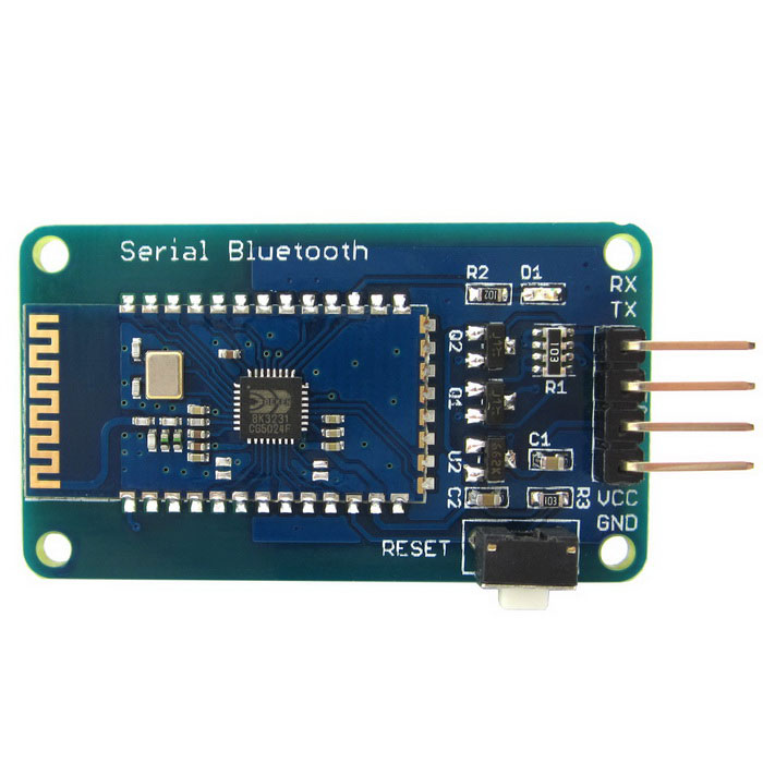 Buy Wireless Bluetooth Module Serial Transceiver for Arduino / RPi / AVR with Litecoins with Free Shipping on Gipsybee.com