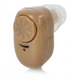 Mini-In-Ear-Hearing-Aid-Voice-Sound-Amplifier-Light-Brown-(1-*-AG3)