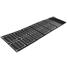 Vina 40W Dual Output Foldable Solar Powered Panel Charger - Black