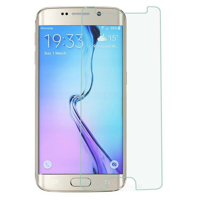 Tempered Glass Film for Samsung Galaxy S6 Edge -Transparent