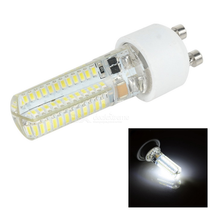 G4 5W 300lm 96-SMD 3014 Bluish White LED Light Lamp w/ GU10 Adapter