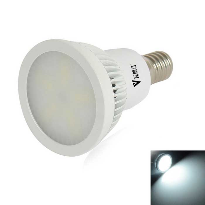 WaLangTing E14 6W 300lm Dimmable Spotlight Bulb Cool White 15-SMD LED