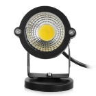 3W COB LED Spotlight / Lawn Lamp Warm White 3500K 160lm - Black