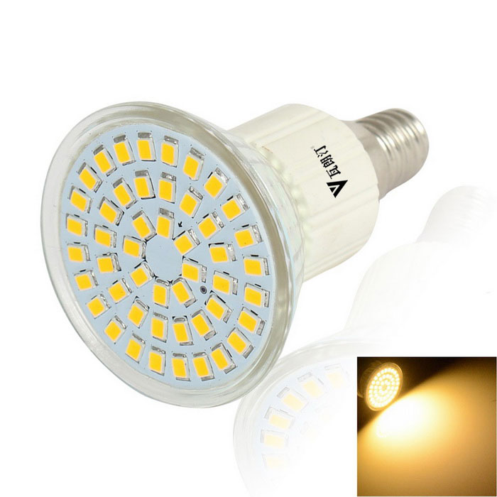 WaLangTing E14 3.5W Spotlight Bulb 300lm Warm White 48-SMD LED - White