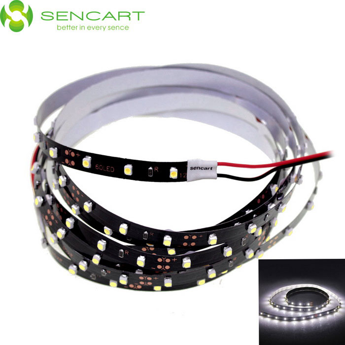 SENCART 5M 25W 300-SMD LED Red Waterproof LED Strip Light for Vehicle (DC 12V)