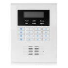 "2.2"" LCD Quad-Band GSM Security Alarm System Kit - White + Black"