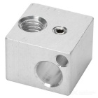 Aluminum Alloy Heating Block for E3D - Silver