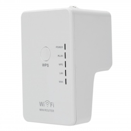Wall-Plug-Wireless-N-Router-w-Control-Switch-White-(US-Plugs)