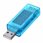 Témoin de mesure de courant / tension USB