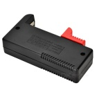 "BT-168D AA / AAA Rechargeable Battery Tester w/ 1.4"" - Black + Red"