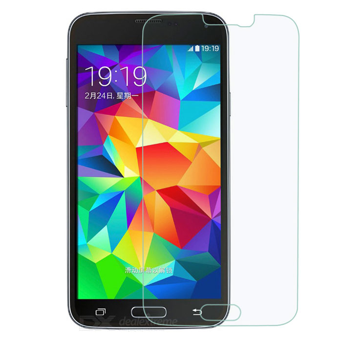 0.26mm Tempered Glass Film for Samsung S5 / i9600 - Transparent (2PCS)