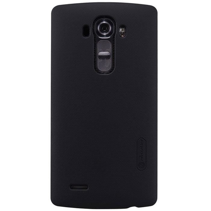 NILLKIN Protective PC Back Case w/ Screen Protector for LG G4 - Black