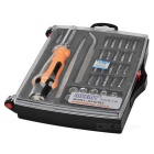 JAKEMY JM-6093 33-in-1 Screwdriver + Socket Set - Silver + Orange