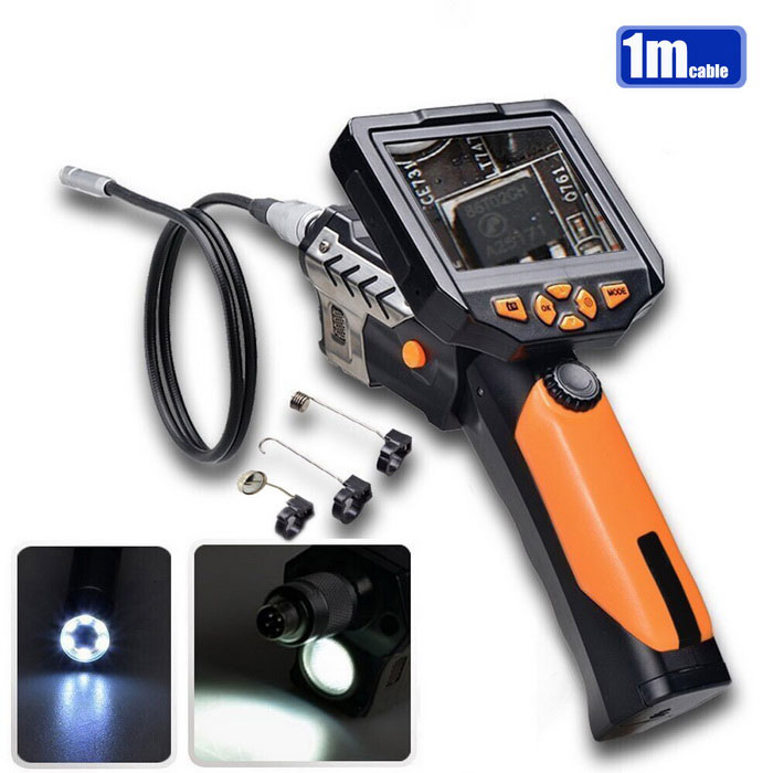 Teslong NTS200 3.5quot LCD LED 8.2mm Camera Inspection Borescope