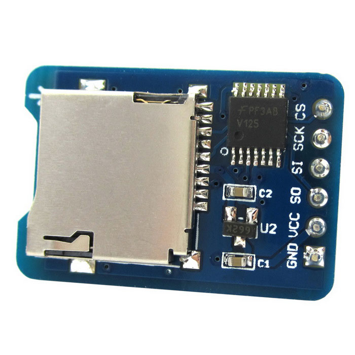 Science nature micro sd card module tf reader for