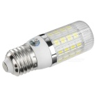 E27 4W LED Corn Lamps White Light 350lm 36-SMD - White + Black (4PCS)