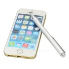 Capacitive Screen Touch Stylus Pen / Ballpoint Pen for IPHONE / IPAD + More - Silver