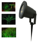 Waterproof Christmas Starry Pattern Green Laser Light 532nm - Black