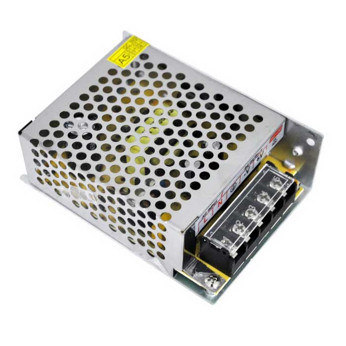 AC 85~265V to DC 5V 40W 8A Switching Power Supply - Silver Grey
