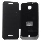 Full Body 3800mAh Power Bank Battery Case for Motorola Nexus 6 - Black