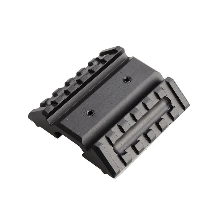 New M051 45 Degree Shift 20mm Gun Rail Mount - Black for sale in Bitcoin, Litecoin, Ethereum, Bitcoin Cash with the best price and Free Shipping on Gipsybee.com