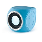 Mini Bluetooth V4.0+EDR Speaker Rugged Bluetooth Devices -Blue