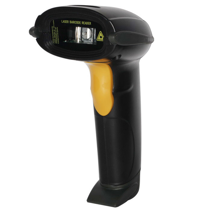 RST5110 Wireless Bluetooth Laser Barcode Scanner Reader - Black