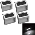 YouOKLight-02W-White-6000K-2-LED-Solar-Wall-Light-Silver-(4PCS)