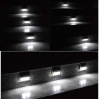 YouOKLight 0.2W White 6000K 2-LED Solar Wall Light - Silver (4PCS)
