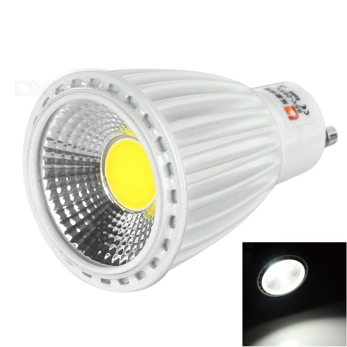 Lexing GU10 18mm 8W 540lm COB Cold White LED Spotlight (85-265V)