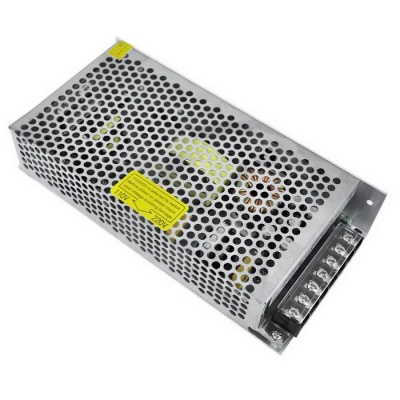 AC 110 / 220V to DC 12V 15A 180W Switching Power Supply - Silver