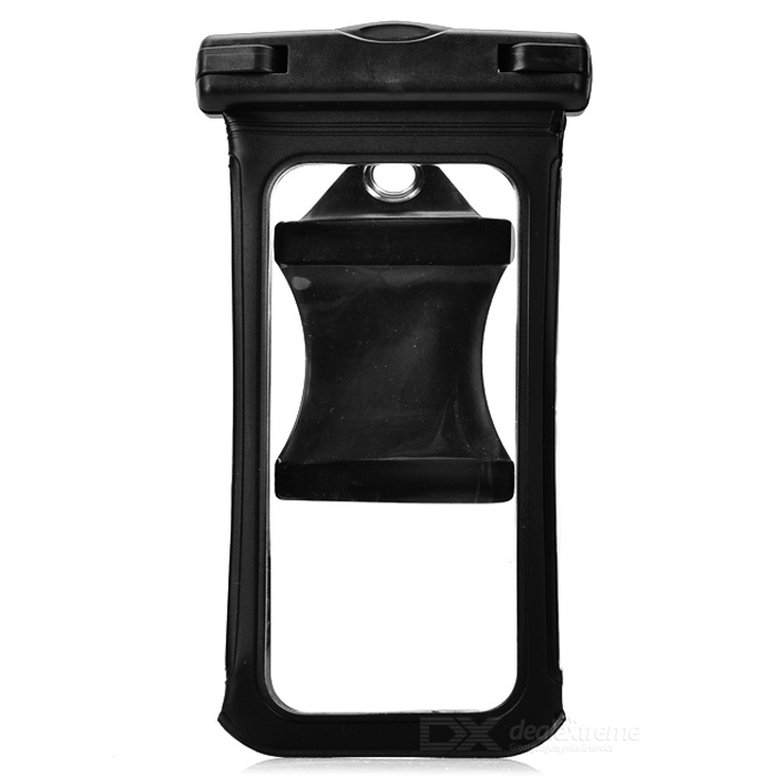 Waterproof PVC Bag w/ Armband / Buckle for IPHONE 6 - Black