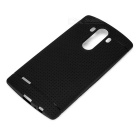 Honeycomb Plaid Protective TPU Back Case for LG G4 - Black