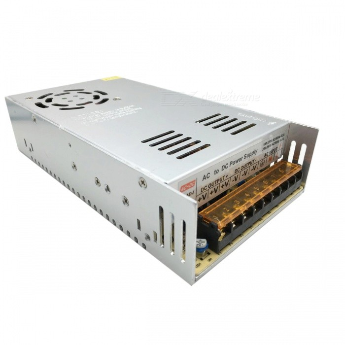 Buy AC 110V / 220V to DC 48V 10.4A 500W Switching Power Supply - Silver with Litecoins with Free Shipping on Gipsybee.com
