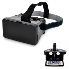 """TERIOS Virtual Reality VR 3D Glasses for 3.5~5.6"""" Phones - Black"""
